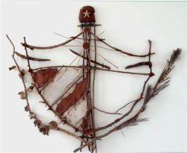Paisaje cubano, (El escudo)1990