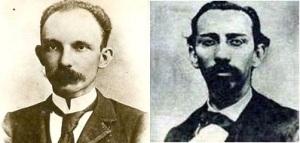 Josè Martì y Manuel Mercado