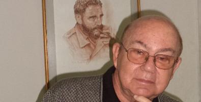 «Soy un cubano atípico», reconoce el poeta Miguel Barnet. Foto: Juventud Rebelde