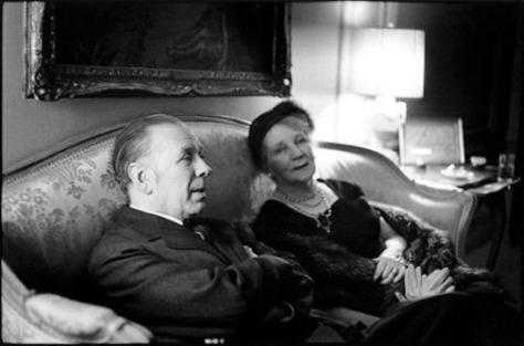 Borges con su madre