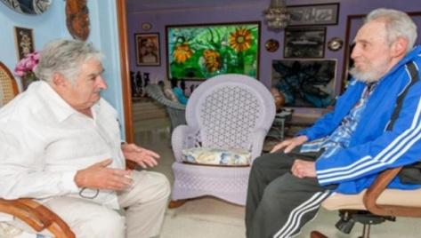 Fidel y Mujica