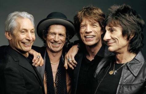 Los Rolling Stones (de izquierda a derecha): Charlie Watts, Keith Richards, Mick Jagger y Ronnie Wood organizan un concierto en La Habana a finales de marzo. Foto: Tomada de makingofezine.com
