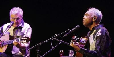 Los brasileños Caetano Veloso y Gilberto Gil