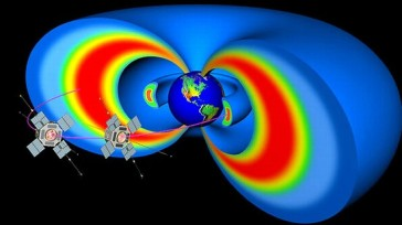 Un fenómeno electromagnético provocado por las ondas de plasma de los dos cinturones en forma de anillo que protegen al planeta emiten un sonido que se asemeja al chasquido de un delfín o a una alarma lejana.