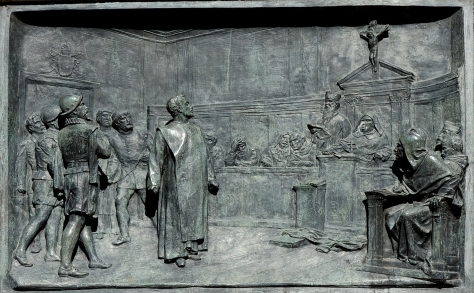 Giordano en el tribunal
