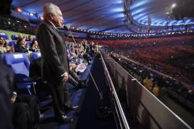 Temer en la inauguaración  de los Juegos Olímpicos Río 2016
