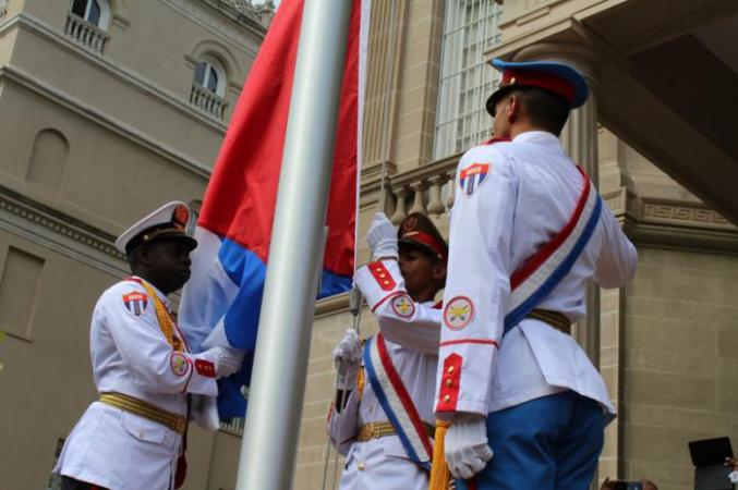 bandera-cubana-en-washinton
