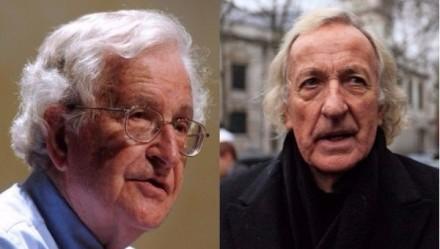 Noam Chomsky y John Pilger