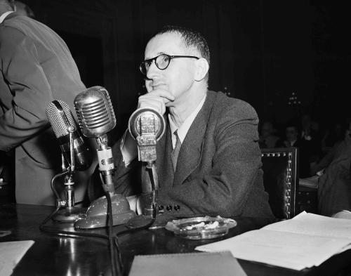 los diez bertolt brecht testificando, 30.10.1947