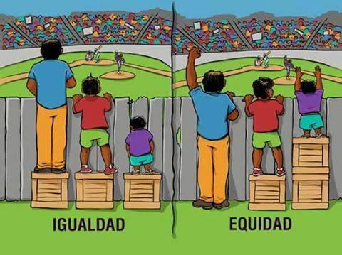 igualdad y equidad