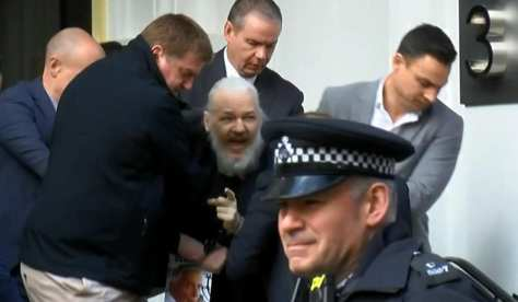 Arresto de Assange