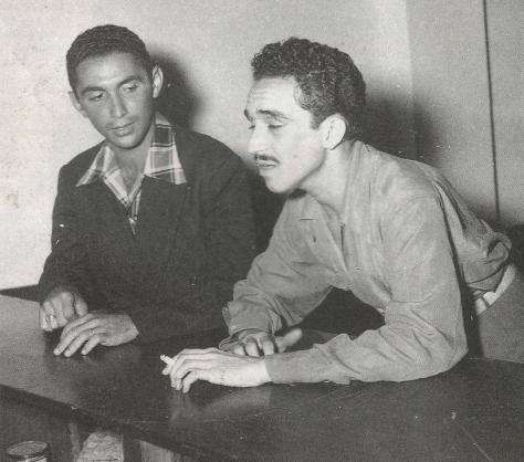 GABO Y ESCALONA EN EL HERALDO DE BARRANQUILLA
