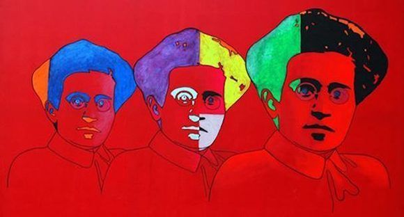 Gramsci - Omaggio-a-Gramsci-2011-de-Gabriele-Cancedda.-580x312