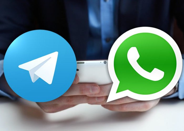 Telegram-y-WhatsApp