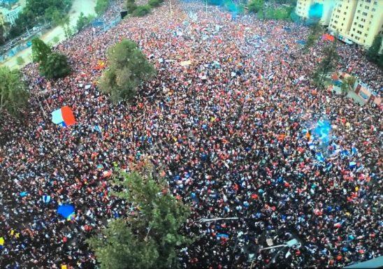 Marcha 1 millón en Chile