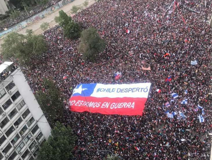 CHILE DESPERTÓ