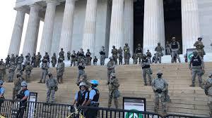 EE.UU. GUARDIA NACIONAL MONUMENTO A LINCOLN