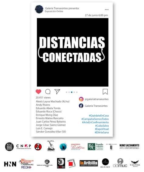 poster expo distancias conectadas